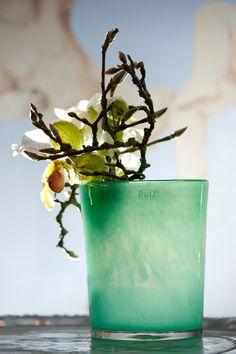 Jade conic vase
