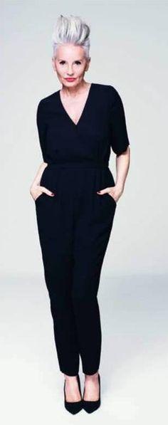 All Black always works. It's all I wear now. Biddy Craft