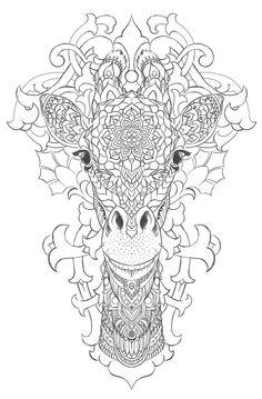 Giraffe on Behance