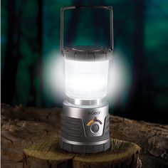 The 30 Day Lantern is the only light source you'll need for your next camping trip. And don't even bother bringing an extra set of batteries