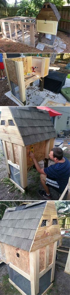 $50 Chicken Coop | 15 More Awesome Chicken Coop Ideas and Designs | Cheap and Easy DIY Projects For Your Homestead by Pioneer Settler at http://pioneersettler.com/15-awesome-chicken-coop-ideas-designs/