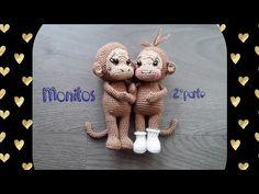 Free Crochet, Youtube, Crochet Patterns, Teddy Bear, Animals, Bb, Monkey, Boyfriends, Animals Of The Rainforest