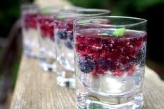 Vodka Berry Jelly Shots