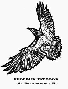 Raven Drawing #illustration #artwork #artist #tattooart #drawings #inked #draw #bird #raven