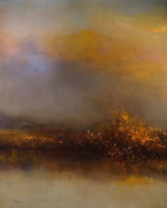 "Saatchi Art Artist Maurice Sapiro; Painting, ""Another Morning At The Marshes"" #art"
