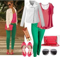 Straight to Plus Size - Color Blocking