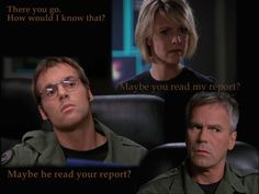 Love this episode. Window of Opportunity... Jack doesn't read reports