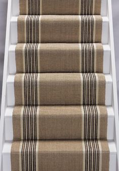 heavy duty striped stair runner
