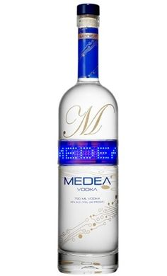 Medea Vodka Bottle with a Programmable LED Screen | Craziest Gadgets