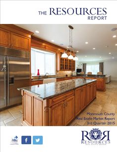 The Resources Report Quarter 2015 Real Estate Market Report Monmouth County NJ Resources Real Estate Monmouth Beach, Monmouth County, Atlantic Highlands, Red Bank, Real Estate Broker, Real Estate Marketing, Offices, Amazing, Home