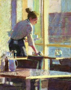 Ronnie-Mulhern-Offen-After-the-Morning-Rush-pastel-on-pumiced-gatorboard-14-x-11-in-.png (542×688)