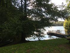 Sauna and lake swim in Finland
