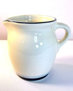 "Pfaltzgraff SKY BLUE Creamer Dark & Light Blue 4.25"" USA #Pfaltzgraff #Pfaltzgraff"