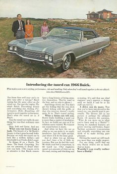 1966 Buick Electra 225 Automobile Original 1965 by VintageAdOrama, $9.99