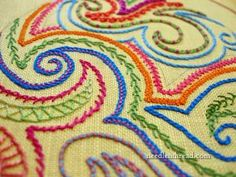 Embroidery Stitch Samplers | Needle and Thread