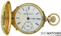 Elgin National Watch Co. 18k Rose Gold Vintage Pocket Watch sold ...