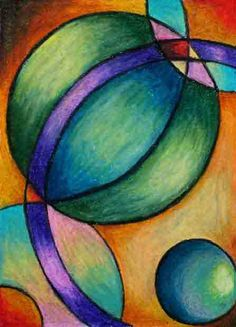 Students learn how to blend! Chalk Pastels, Oil Pastels, 8th Grade Art, Oil Pastel Art, School Art Projects, Elements Of Art, Art Lesson Plans, Art Classroom, Art Plastique