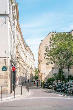 Rue des Archives in Paris, France