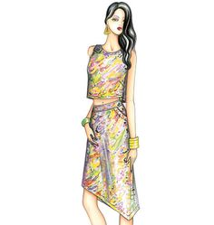 Sewing patterns for fashion clothing, crafts and home decorating. Dress sewing patterns, evening and prom sewing patterns, bridal sewing patterns, plus costume and cosplay sewing patterns. Marfy Patterns, Skirt Patterns Sewing, Vogue Sewing Patterns, Italian Pattern, Prom Dresses, Summer Dresses, Pattern Fashion, Two Piece Skirt Set, Womens Fashion