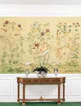 Traditional wallpaper / floral / nature pattern / chinoiserie