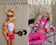 Meet Trophy Wife Barbie: She Smokes, Drinks, And Raises Hell Barbie Jokes, Barbie Funny, Bad Barbie, Barbie Life, Barbie Dream, Barbie And Ken, Funny Images, Funny Pictures, Barbie Sets