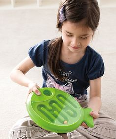 Another great find on #zulily! Green Tricky Fish Toy #zulilyfinds