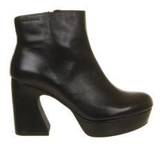 Buy Black Leather Vagabond Tereza Boots from OFFICE.co.uk. Black Leather  Ankle 5b10e02342