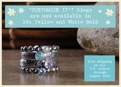 rings, pretty rings