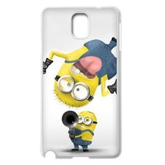 Custom Despicable Me Minions Joke For Samsung Galaxy Note 2 Note 3 S5 Case Cover