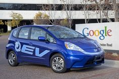 Honda delivers 2013 Fit EV to Google and Stanford University