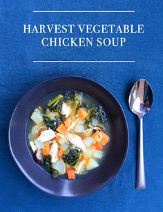Simple hearty and healthy soup to warm and fill you up on chilly days