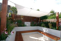 Landscaping Solutions - a shade sail