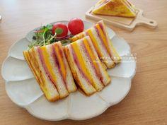 몬테크리스토 샌드위치 - 햄치즈 샌드위치 만들기