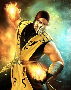 Scorpion - Mortal Kombat  Created by Andrei Kolosov