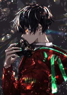 anime nam Anh l bng ti ca i e Anime Demon Boy, Hot Anime Boy, Anime Angel, Ange Anime, Dark Anime Guys, Cool Anime Guys, Anime Boys, Dark Anime Art, Anime Neko
