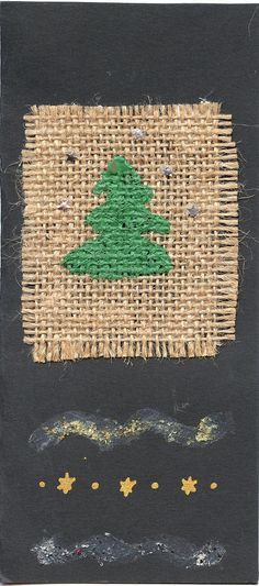 https://flic.kr/p/5JU1HS | joulukortti  73 - Christmas Tree Card | my collection