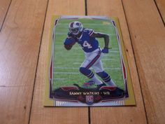 2014 Topps #434 SAMMY WATKINS RC Gold Border Rookie Parallel Card Numbered /2014