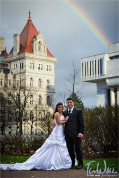 We're tasting the rainbow and feeling the love with this 90 State couple taking advantage of the beautiful day in downtown Albany. Photo Credit - Tom Wall Photography