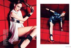 Coco Rocha for Harper's Bazaar