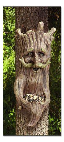 Tree bird feeder....or plant holder...