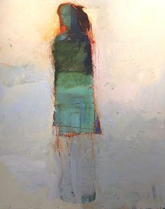 Soho 2017 - Chris Gwaltney (b. oil on canvas Altri soggetti. Bello sfondo, e toni. Abstract Portrait Painting, Portrait Art, Figure Painting, Painting & Drawing, Abstract Art, Portrait Paintings, Art Inspo, Painting Inspiration, People Art