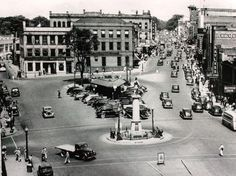 downtown Spartanburg way back in the day