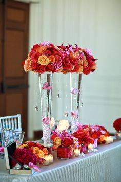 88 Best Tall Vase Centerpieces Images In 2019 Wedding Tables