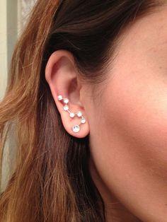 DIY Wire Crystal Constellation Earrings Tutorial