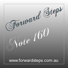 Forward Steps 365 Life Power Notes #160