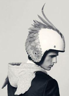 Helmet ray by Sebastián Troncoso for NEO2.