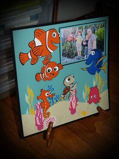 Cricut Disney Best of Pixar: Finding Nemo Layout