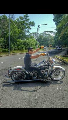Sunday ride #cholo #harleydavidsondeluxe #harleydavidsonmalaysia