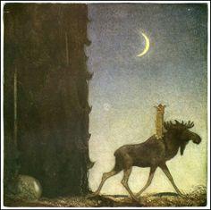 çizgili masallar: Swedish Folk Tales by John Bauer