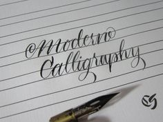 Step by step tutorial on how to learn modern calligraphy with pictures and videos. All skill levels are welcome to learn using our methods.